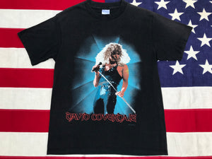 WHITESNAKE David Coverdale 1987 Original Vintage Rock T-Shirt By Spring Ford Classic Sportswear Made in USA