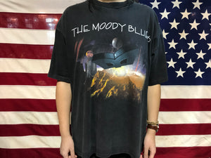 The Moody Blues 1996 Summer Tour Original Vintage Rock T-Shirt Made in USA