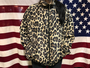 Pattern Animal 80's Print Vintage Silk Bomber Jacket