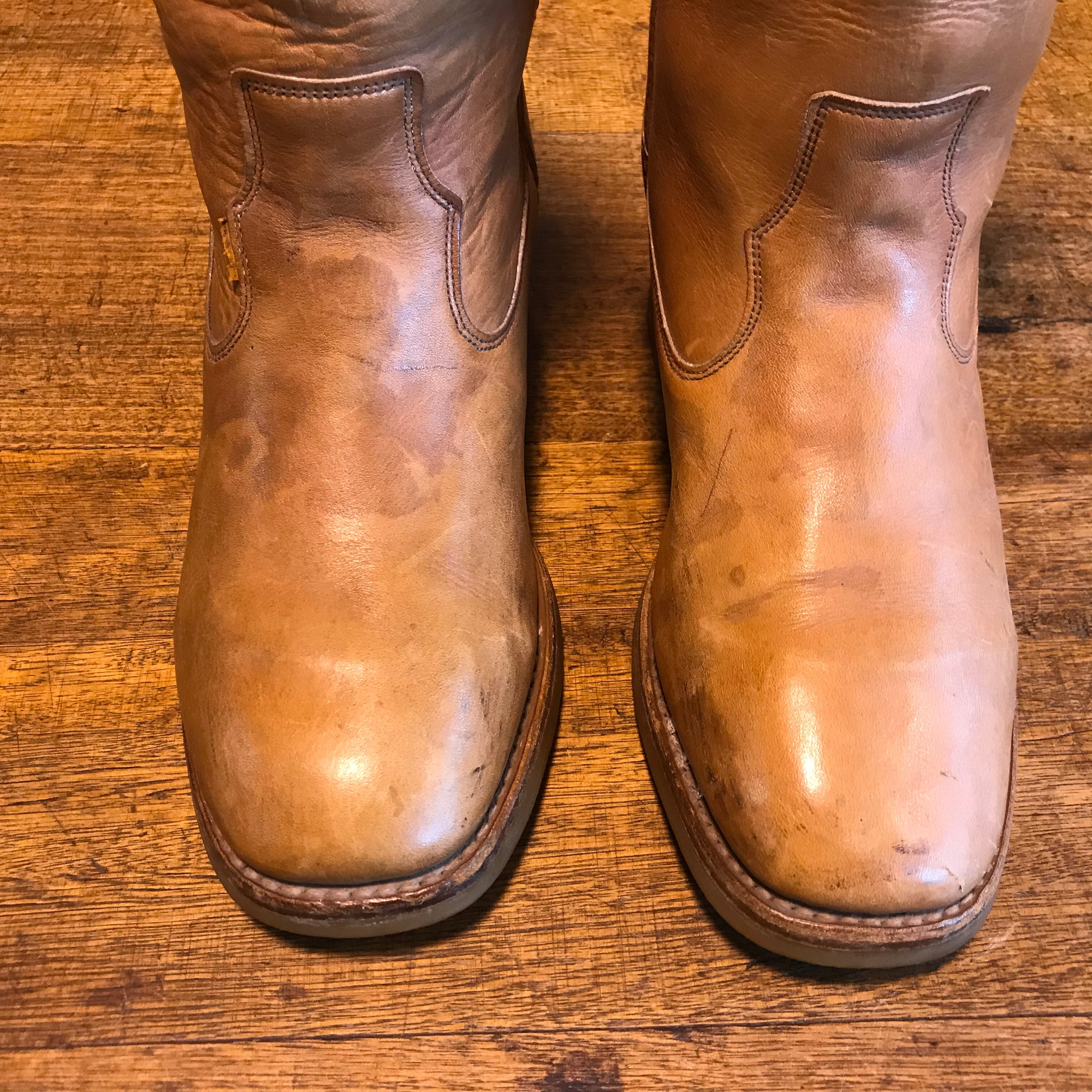Levi's Strauss & Co - Cowboy Boots Vintage 70/80's Mens Leather Frye Style Boots Made in USA