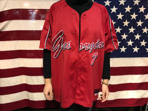 Georgia Bulldogs Vintage Softball Jersey by Colosseum Athletics