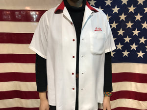 Ten Strike by King Louie 50's - 60's Vintage Rayon Bowling Shirt
