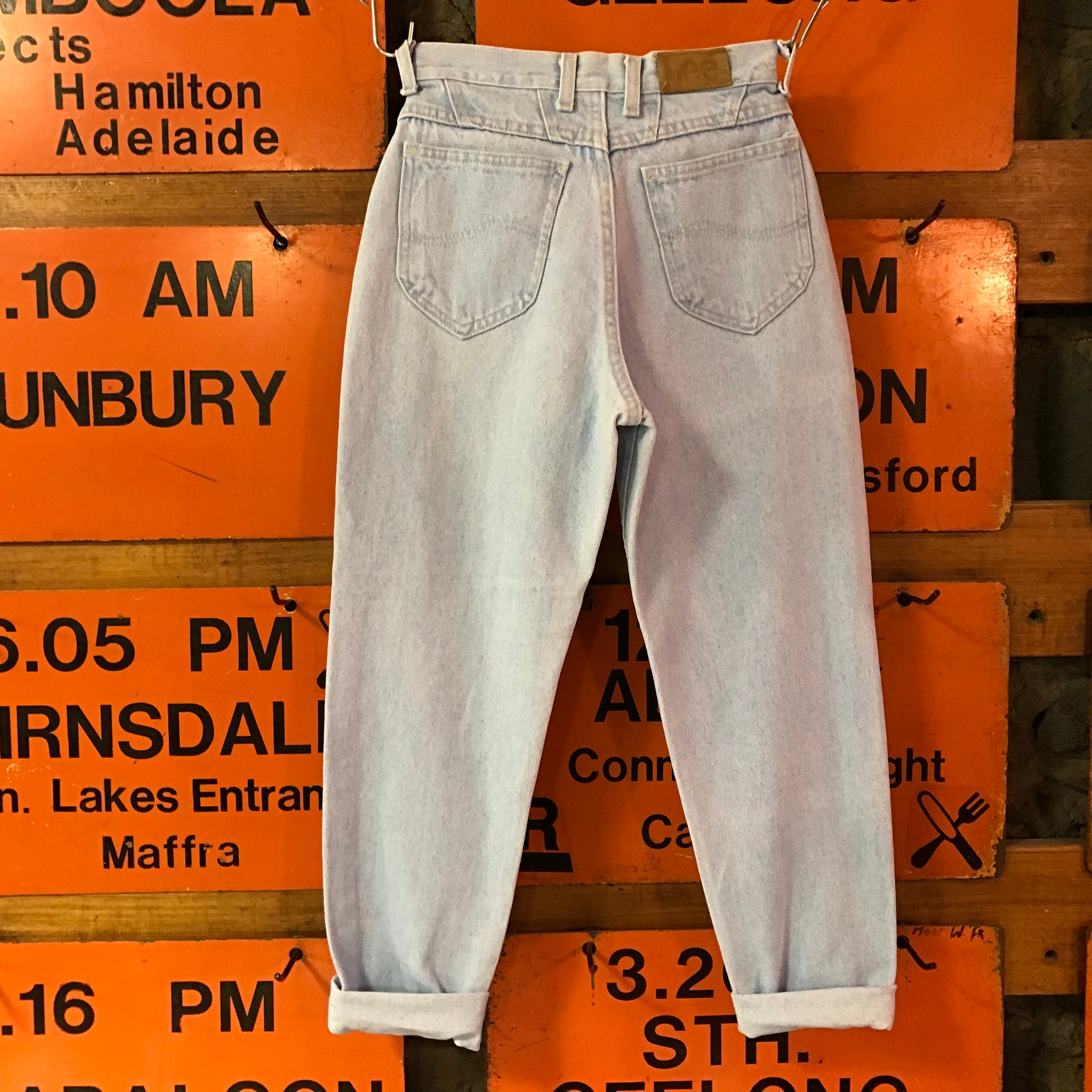 Lee Womens Jeans Vintage 80's High Waisted Mom Jeans Made in USA