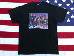Aerosmith Just Push Play Nth American Tour 2001-2002 Original Vintage Rock T-Shirt