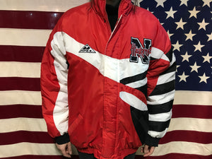 Nebraska Huskers Football Vintage 90's Mens Nylon Apex One Jacket