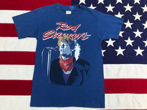 Rod Stewart Tour '84  Original Vintage Rock T-Shirt by Winterland Productions Made in USA