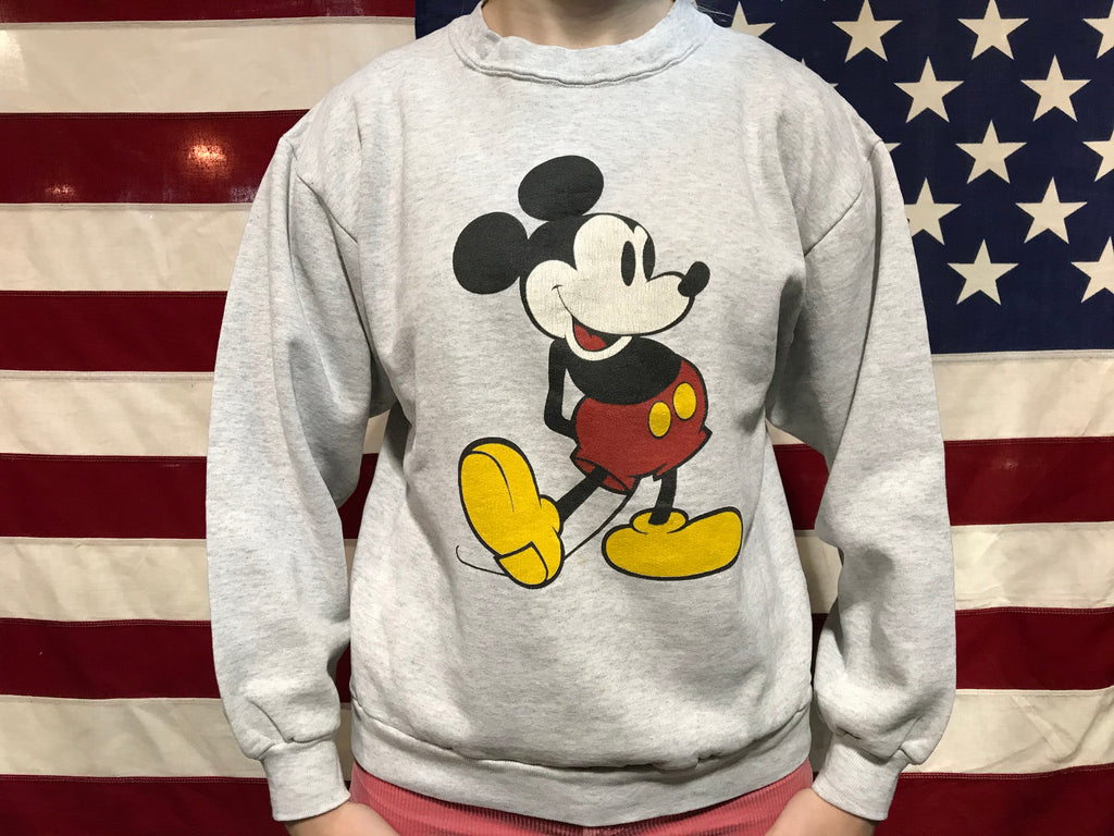 Mickey Mouse 90's Vintage ©️DisneyCrew Sweat Made In USA by Character Fashions