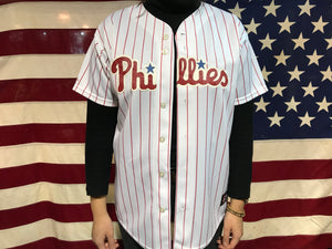 Phillies Baseball Vintage Jersey Player Halladay No 34 by Majestic Made in USA