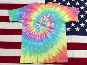 "Copy of Grateful Dead "" Spiral Bears 1989 "" Original Vintage Rock Tie Dye T-Shirt by Liquid Blue Made In USA"