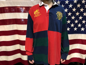 Polo by Ralph Lauren Vintage 90's Long Sleeve Polo