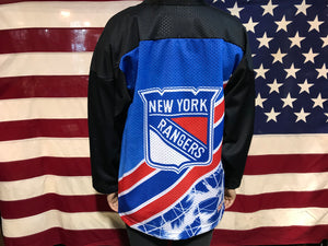 New York Rangers NHL 90's  Ice Hockey Vintage CCM Mens Jersey Made In USA