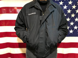 US Military DSCP QuarterDeck Collection Vintage Unisex Windbreaker Made in USA