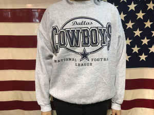 Dallas Cowboys NFL 90's Vintage Crew Sporting Sweat by Logo7 USA
