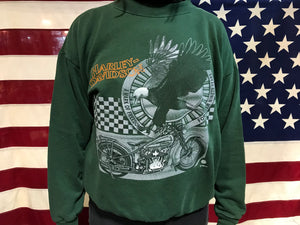 Harley Davidson Vintage 1995 Made in USA Crew Sweat