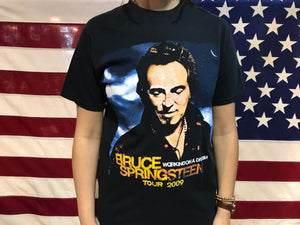 Bruce Springsteen Working On A Dream Tour 2009 Vintage Rock T-Shirt