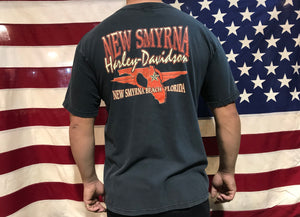 Harley Davidson Vintage T-Shirt - New Smyrna 1998 Bike Week