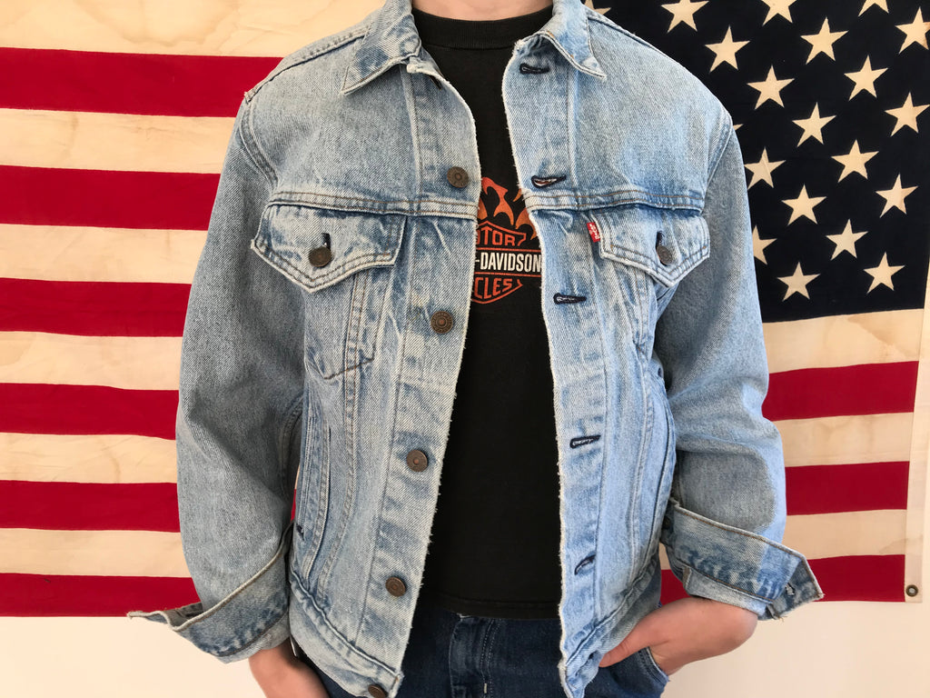 Levis Denim Vintage Mens Trucker Jacket