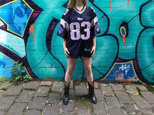 "NFL New England Patriots Vintage 90's  Mens Jersey "" Welker No 83 "" By OnField Reebok Equipment"