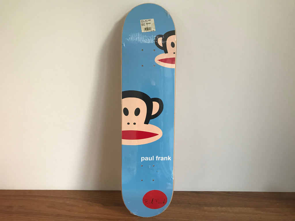 "Paul Frank Rare Signed "" Julius "" 90's Skateboard Deck Brand New Original Packaging"