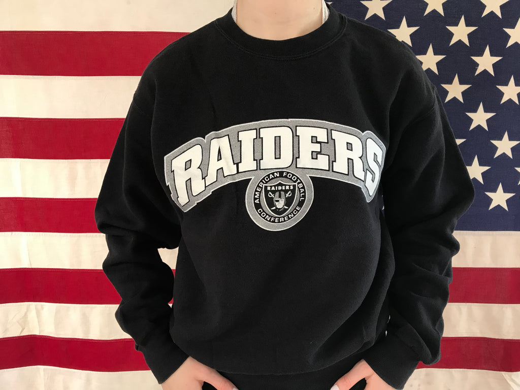 Los Angeles Raiders NFL Vintage Crew Sporting Sweat