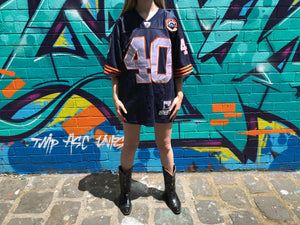 "NFL Chicago Bears Vintage 90's  Mens Jersey "" Gale Sayers 40 "" By Mitchell & Ness Philadelphia Throwbacks Authentics"
