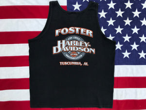 Harley Davidson Vintage 2000's Mens Tank - Tuscumbia, AL .Made in  USA