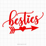 Besties Svg Saying - svgize