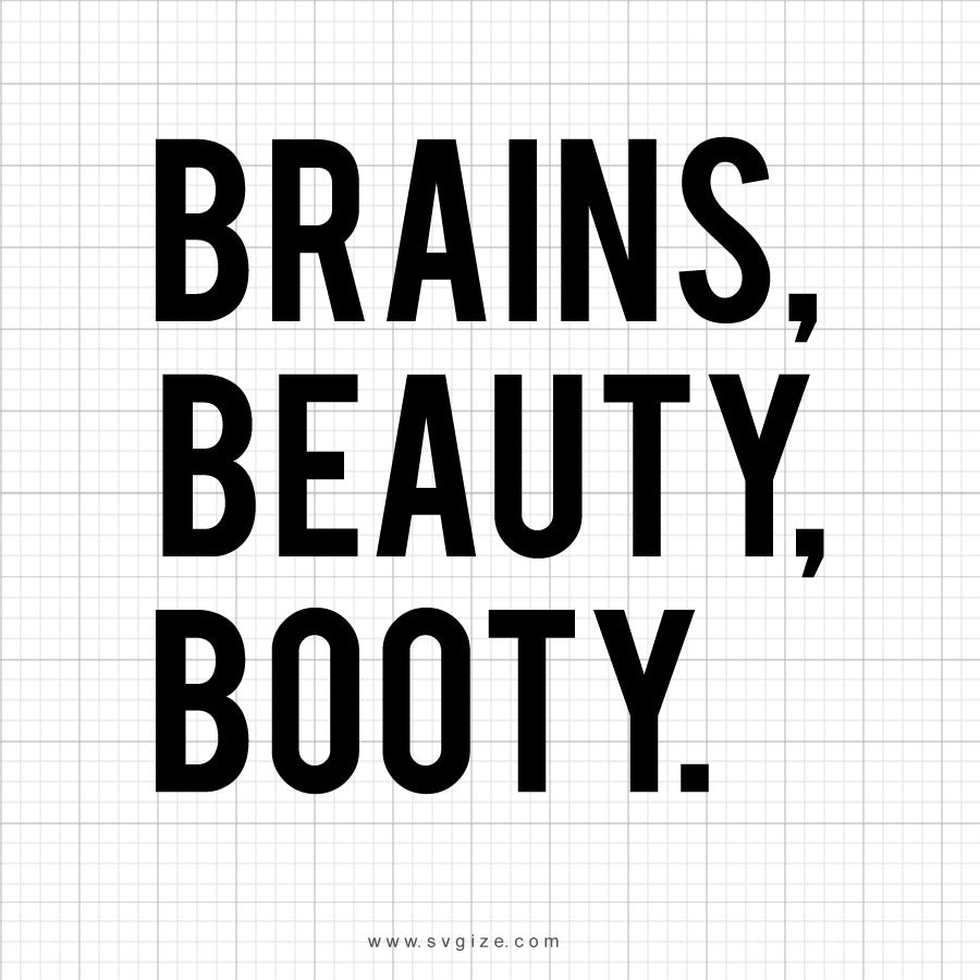 Brains Beauty Booty Design