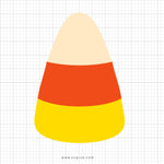 Candy Corn Svg Clipart