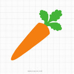 Carrot Svg Clipart - SVGize