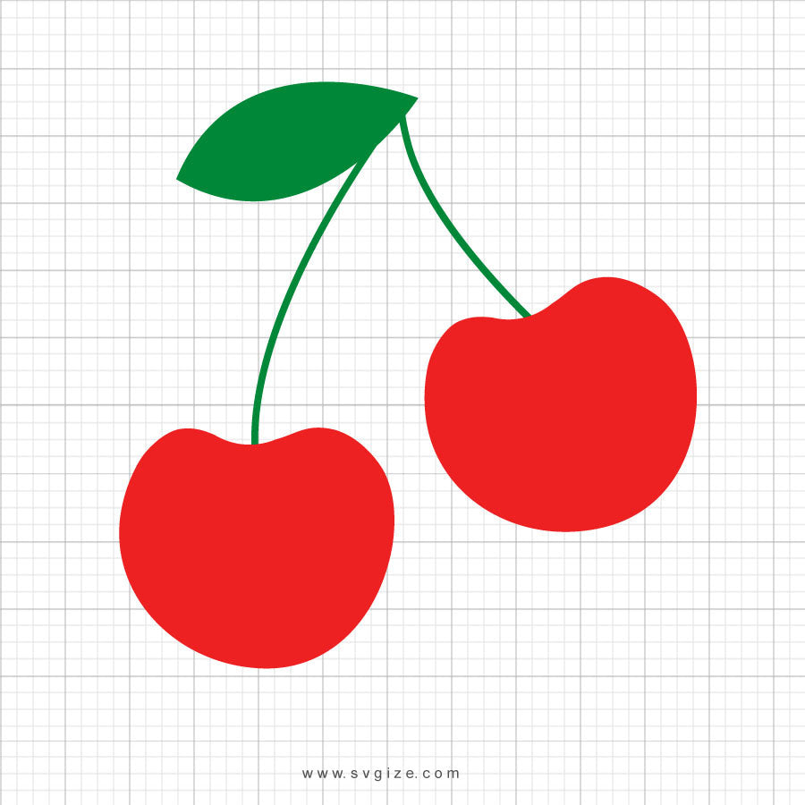Free Cherries Svg Clipart