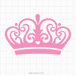 Crown Tiara Svg Clipart - SVGize