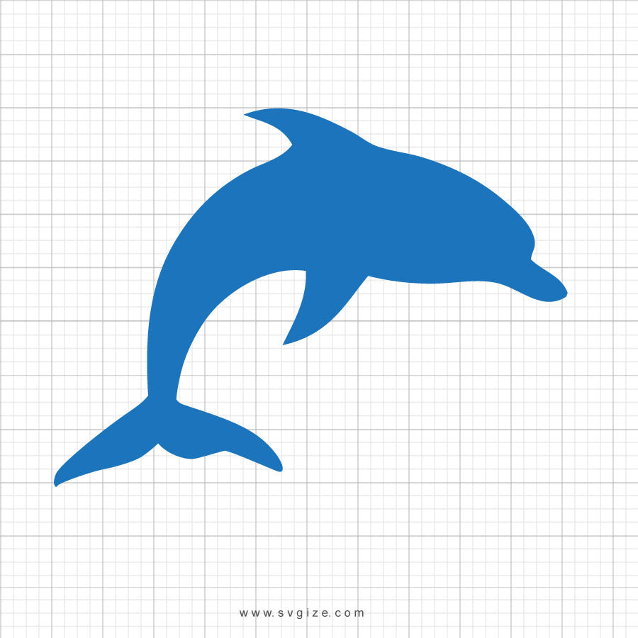 Dolphin Svg Clipart