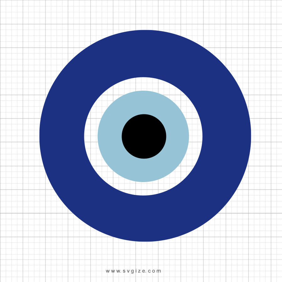 Evil Eye SVG Cliaprt