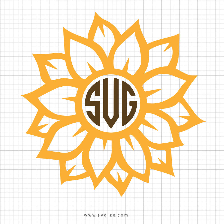 Flower Svg Clipart - svgize