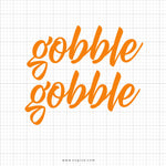 Gobble Gobble Svg Saying - svgize