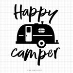 Happy Camper SVG Saying - svgize