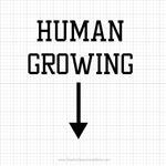 Human Growing Svg Saying - SVGize