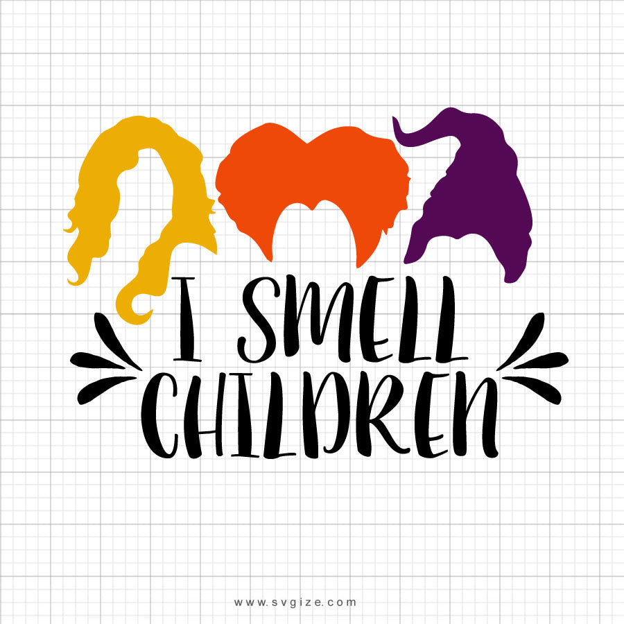 I Smell Children Svg Saying - SVGize
