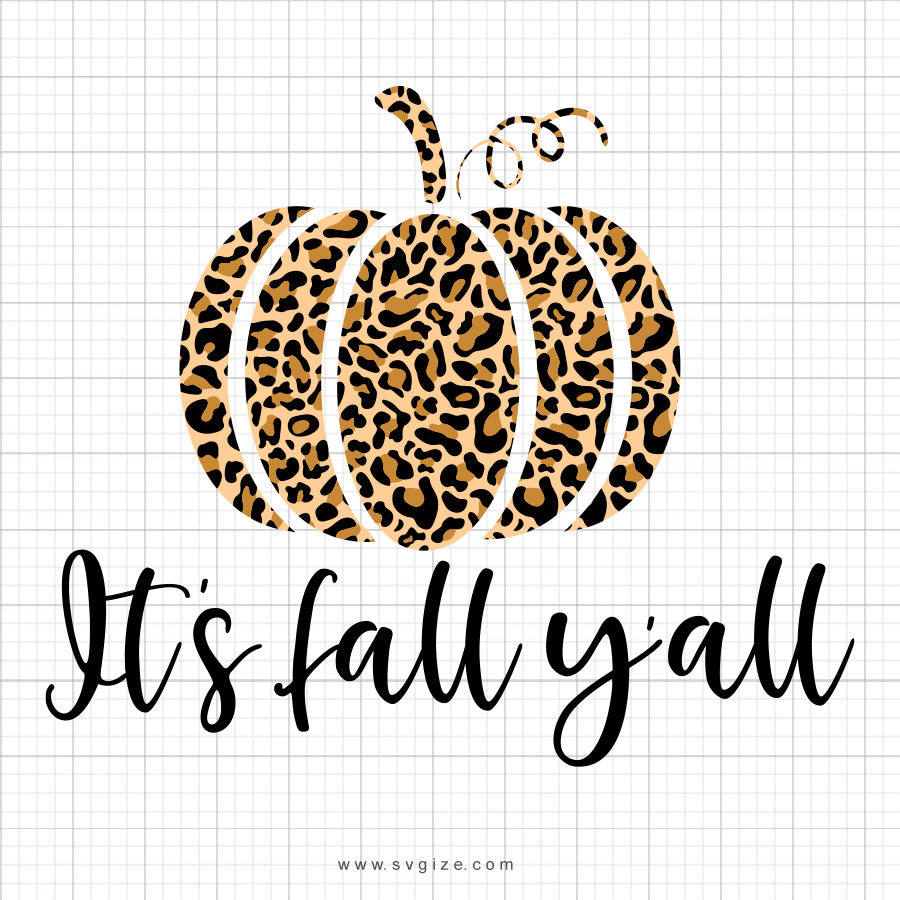 It S Fall Y All Svg Saying Svgize