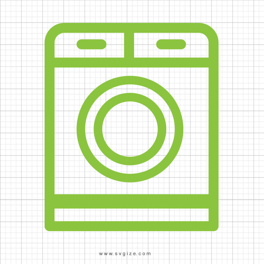 Laundry SVG Planner Icon - svgize