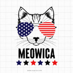 Meowica SVG Saying