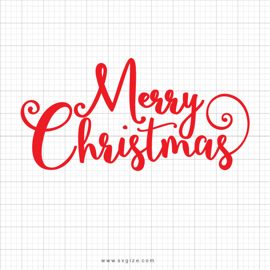 Merry Christmas Svg Saying
