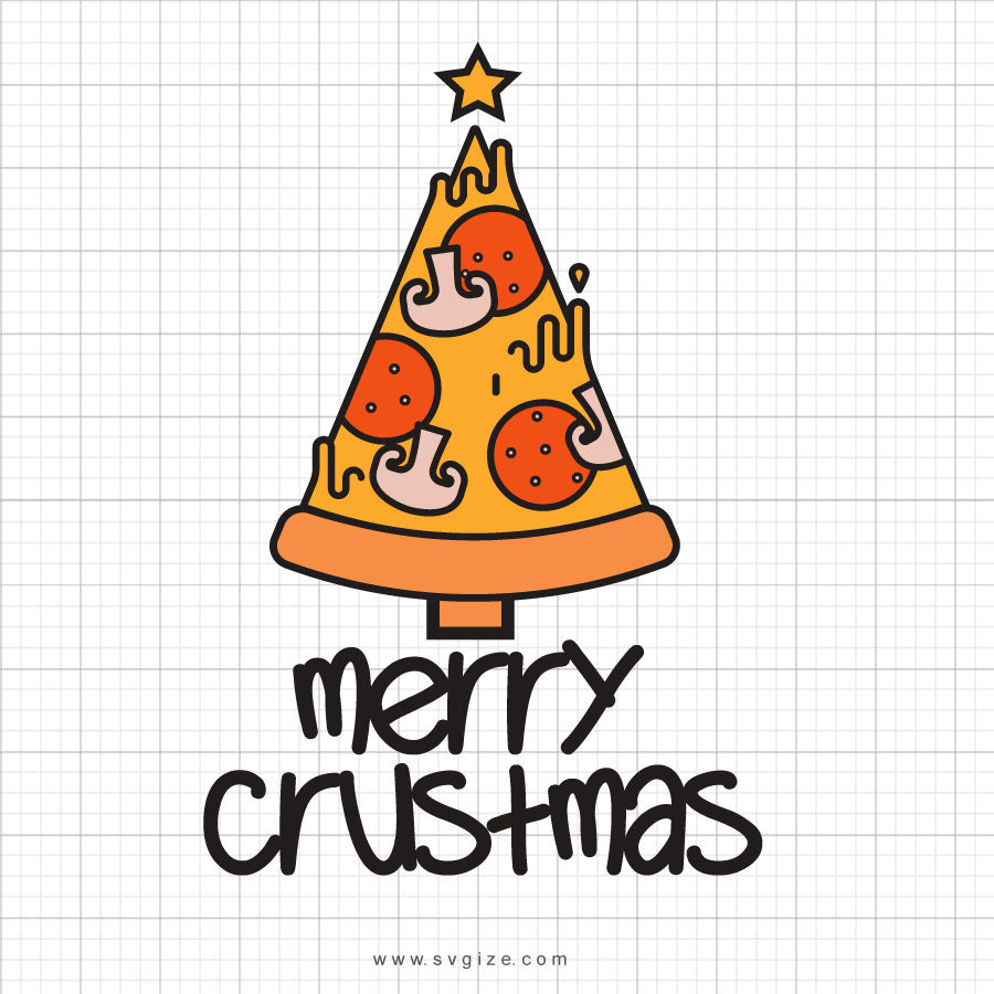 Merry Crustmas Svg Saying