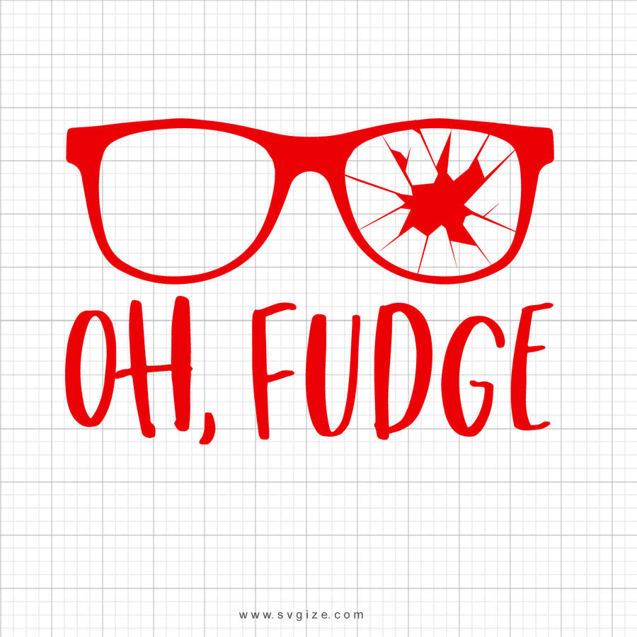Oh Fudge Svg Saying