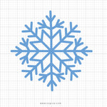 Snowflake SVG Clipart