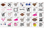 Sports Svg Clipart Printables Craft Bundle - SVGize