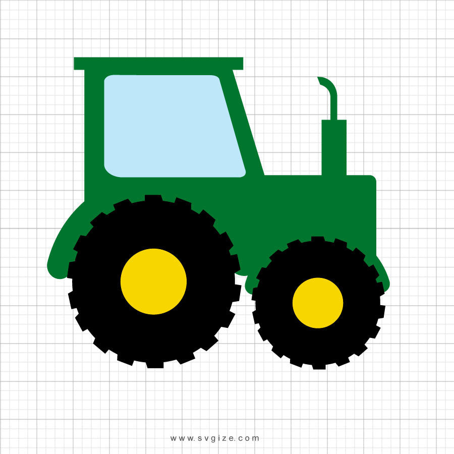 Tractor Svg Clipart - svgize