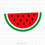 Watermelon Svg Clipart