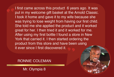 Shrink Toning Lotion- Ronnie Coleman